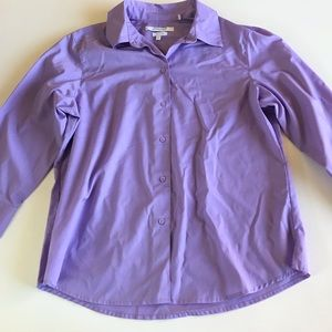 Foxcroft NYC Wrinkle Free Business Casual Top